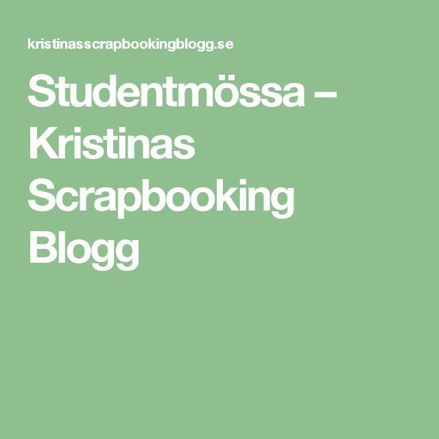 Studentmössa – Kristinas Scrapbooking Blogg
