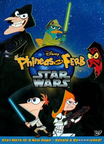 Phineas and Ferb: Star Wars [DVD] [2014]