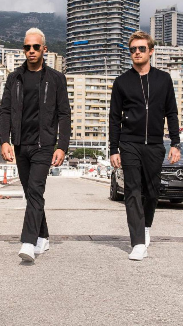 Hamilton & Lewis - Hugo Boss
