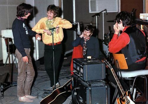The Beatles in the studio, 1967
