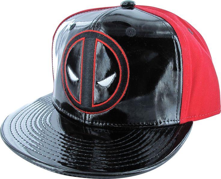 Deadpool Logo Gloss Front Snap Hat