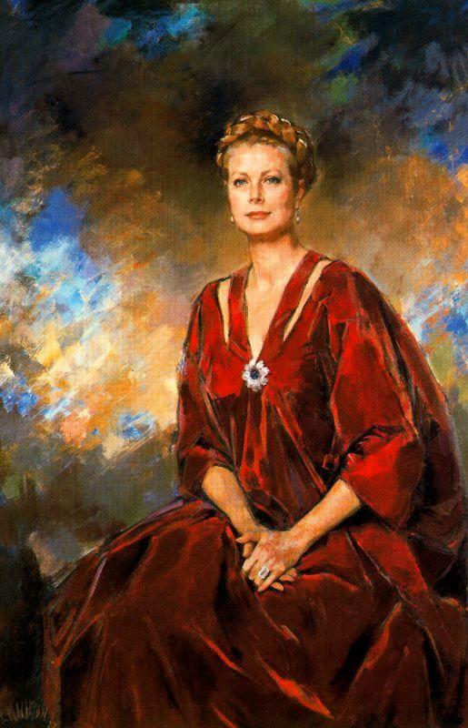 Ricardo Macarrón. (Madrid, 1926 - Riaza, Segovia, 2004  Princesa Grace de Monaco