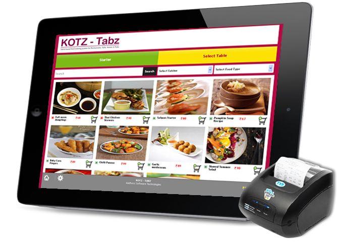 Ipad Food Ordering Restaurant