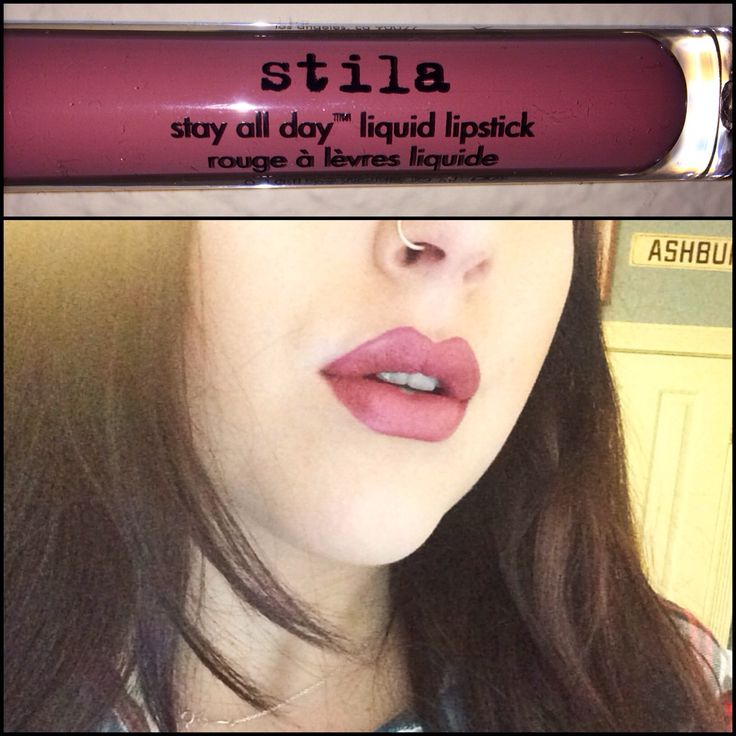Stila Stay All Day Liquid Lipstick in 'Patina' review! @beccap_beauty