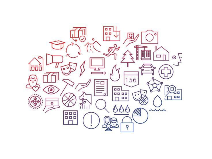 Web app icon set by Tomas Kopecny