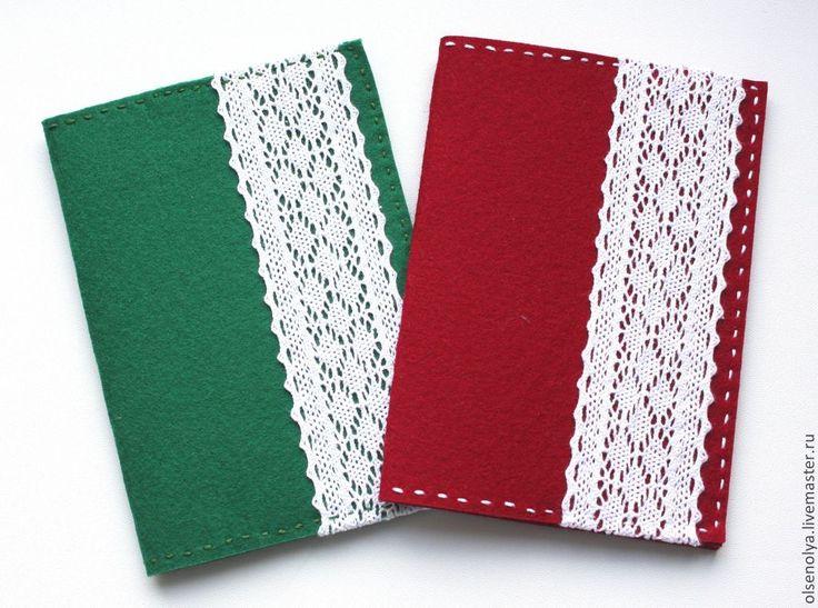 Купить Обложка для паспорта из фетра - разноцветный, обложка на паспорт, обложка для паспорта, обложка на загранпаспорт