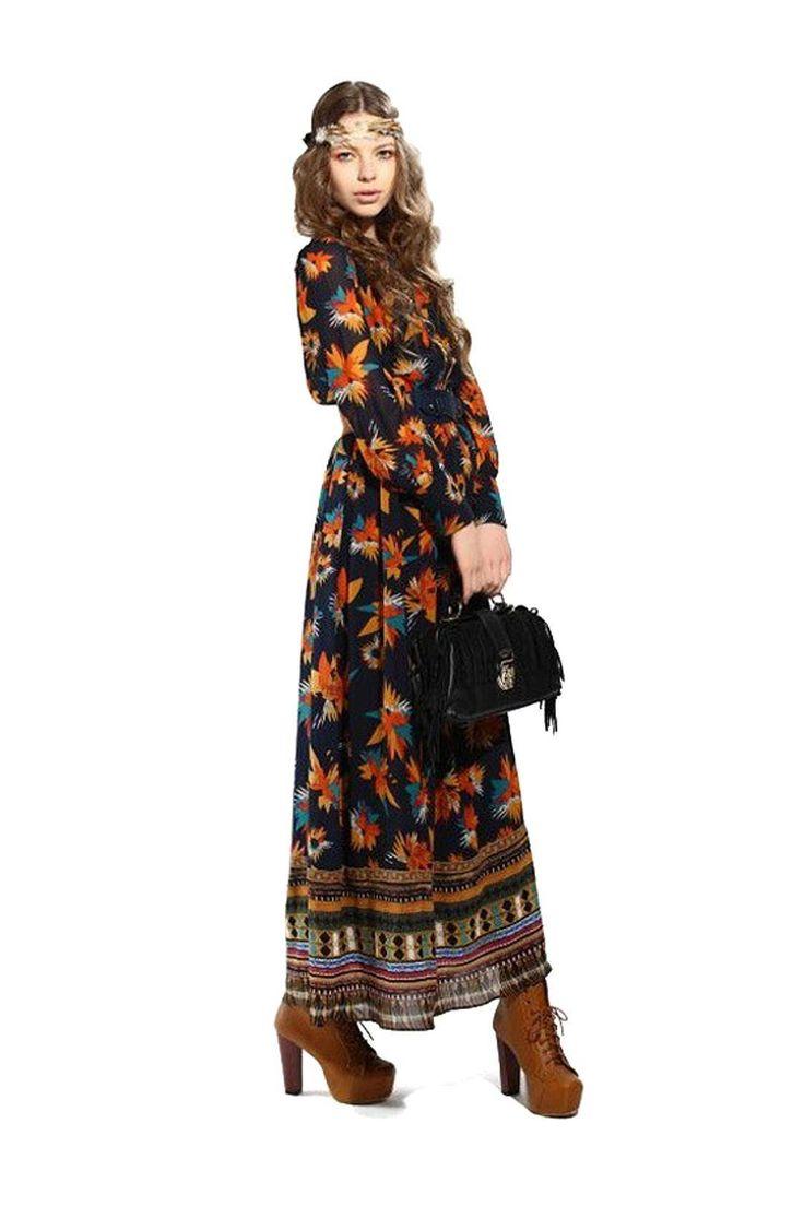 Floral Dress with Belt - Get yours http://www.yoins.com/Floral-Dress-with-Belt-p-961589.html?utm_source=pinterest&utm_medium=pinterest_direct&utm_campaign=pinterest_cpc&utm_content=angel&utm_design=