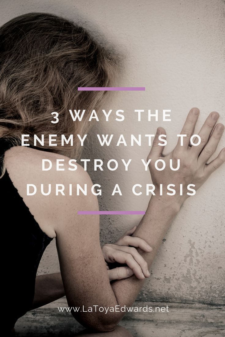 You have an enemy that is set on destroying you. During hard times you need to understand how satan attacks so you know how to pray.