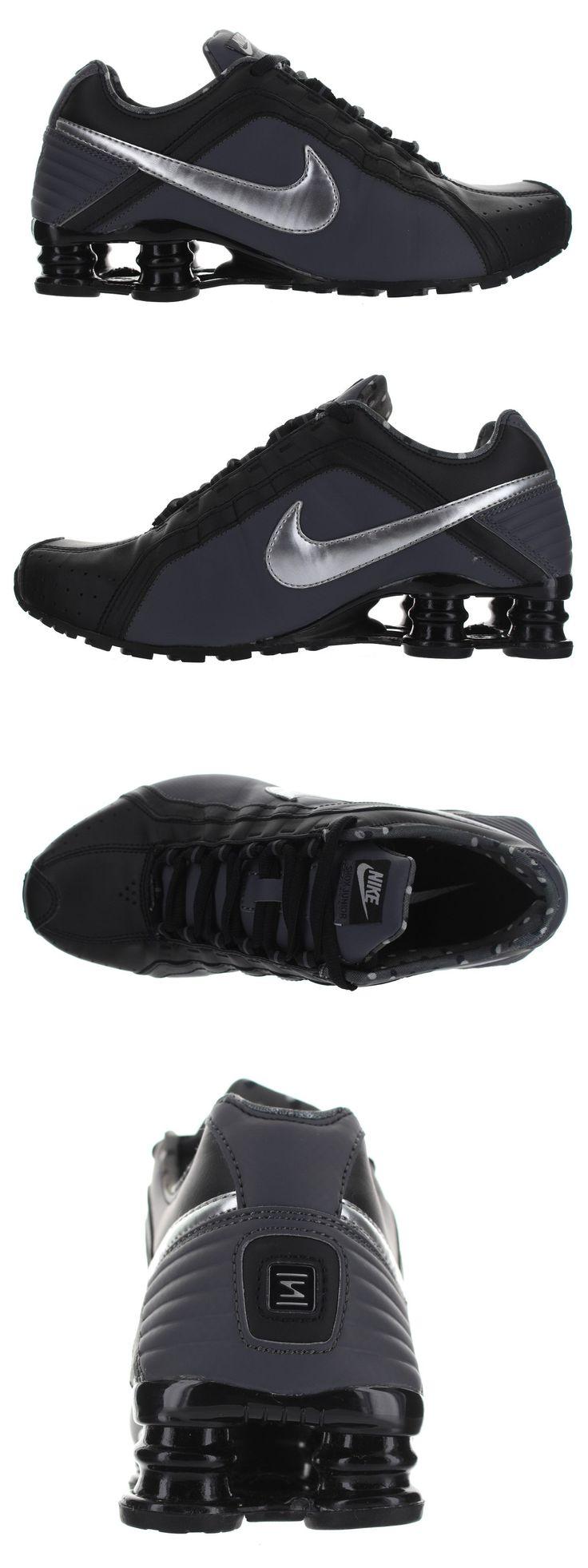 Athletic 95672: Nike Women S Shox Junior Black - Metallic Running Shoes Multiple Size Nib -> BUY IT NOW ONLY: $58.97 on eBay!