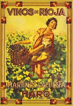 Bonito cartel de #Bodegas Martinez Lacuesta (#Rioja)