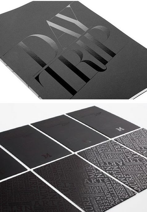 Matte business card on a classic black base! - Printing fly, Los Angeles