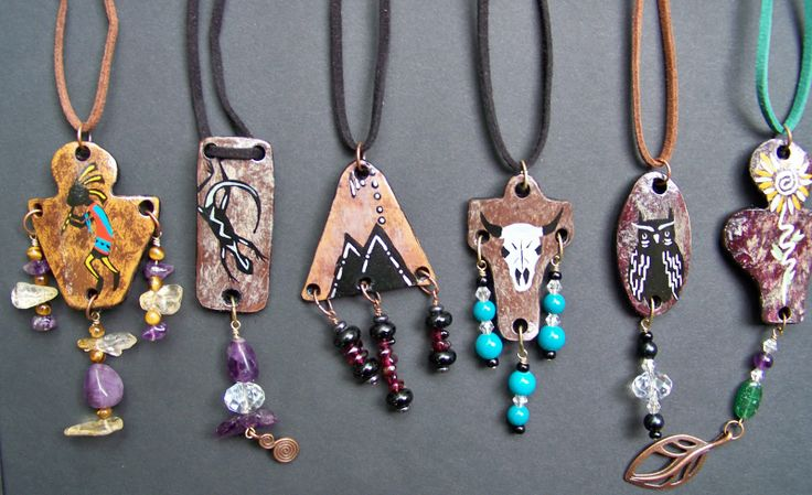 gourd art patterns | ... Art Studios: Blending Art with Natural Elements in Gourd Jewelry