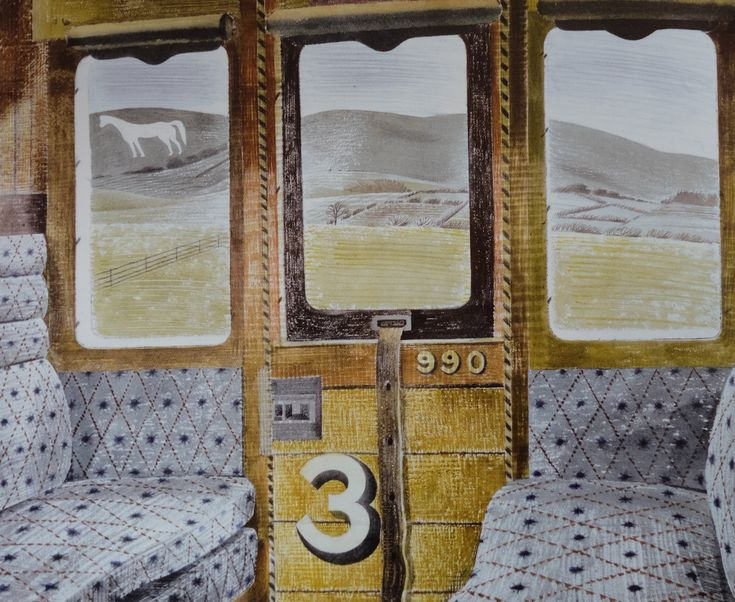 Eric Ravilious Exhibition @ Dulwich Picture Gallery