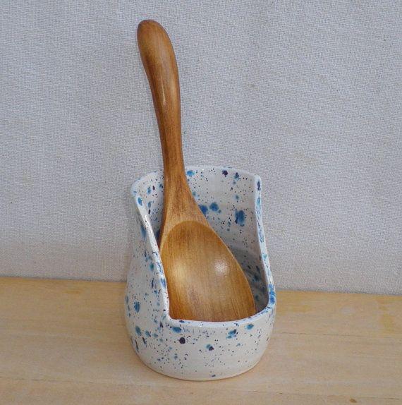 Spoonrest hand thrown ceramic