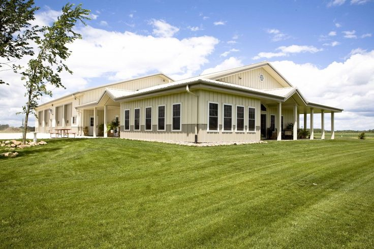 29 best images about metal buildings homes on pinterest for Morton building house