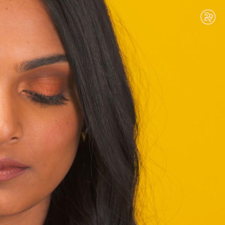 How To: Orange Smokey Eye