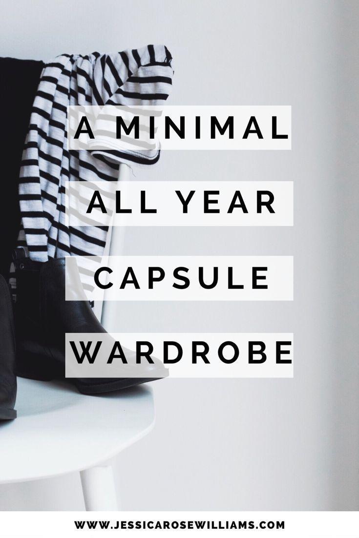 A minimal year round capsule wardrobe. Fancy a nosy round a minimalist closet?