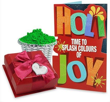 With some adorable #HoliGiftHampers you can adore your loved ones on this auspicious day that belongs to color and #celebration to the fullest.