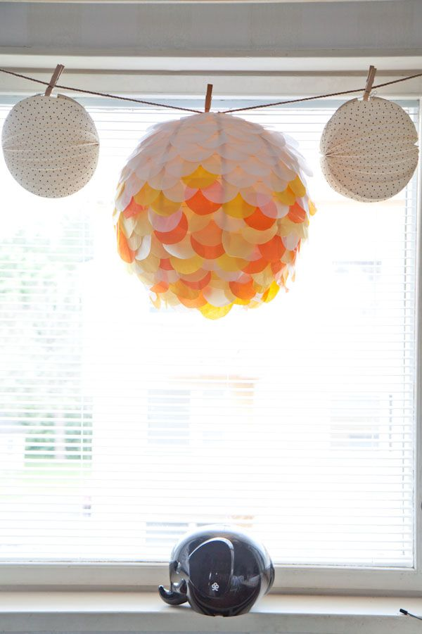 DIY paper lantern decoration 196 best Paper