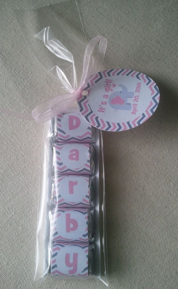 10 Personalized Hershey Nugget Wrappers Baby by ...