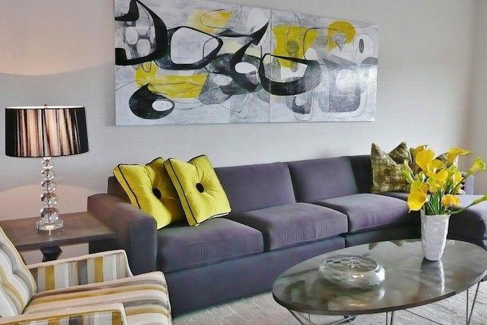 1001 Ideen Zum Thema Welche Farbe Passt Zu Grau Dekokissen Couch Dunkelgraue Sofas Mobelanordnung