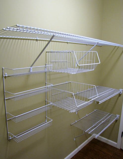 Hello, Home! Homemaking, Interior Design Blog, Staging, · Wire Closet  ShelvingWire ... - 25+ Best Ideas About Wire Racks On Pinterest Wire Rack Shelving
