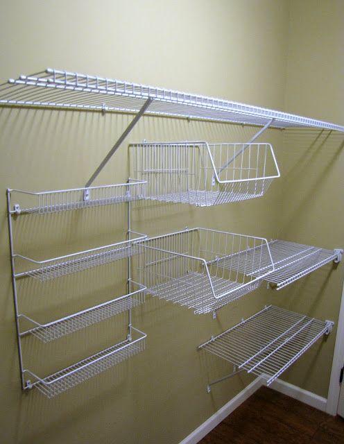 Homemaking, Interior Design Blog, Staging,. Wire Closet ShelvingWire ...