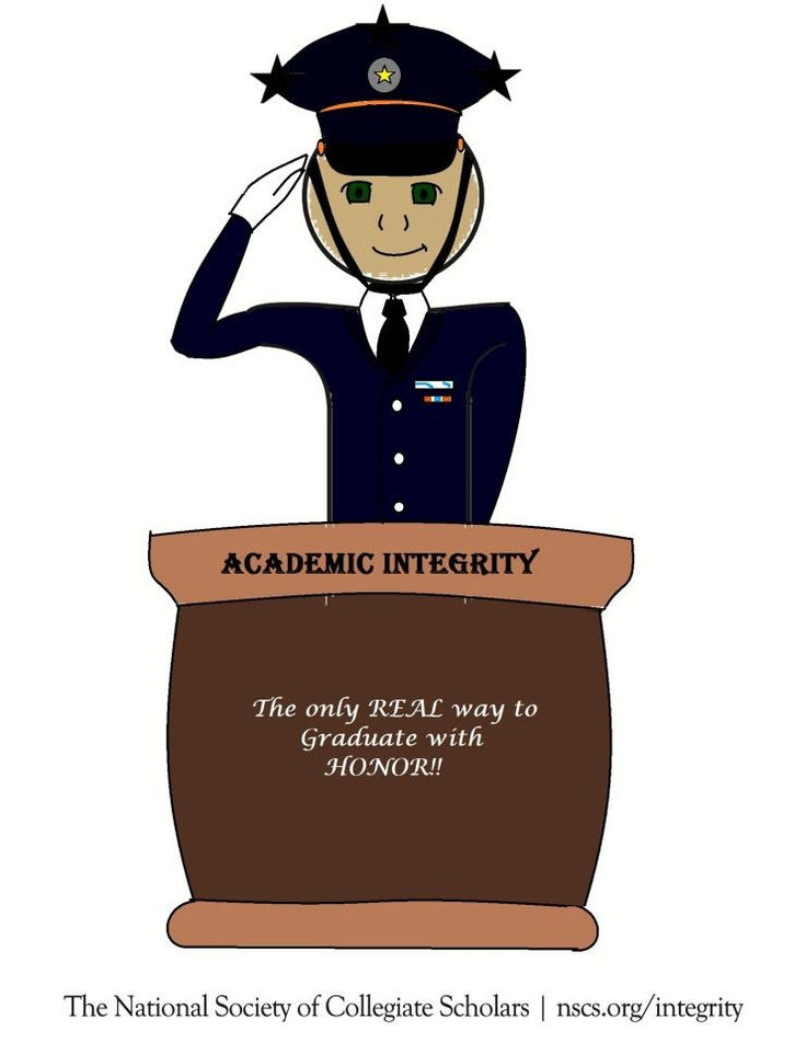 Academic Integrity - The only REAL way to graduate with honor! - by Geneal Chichester from Binghamton University