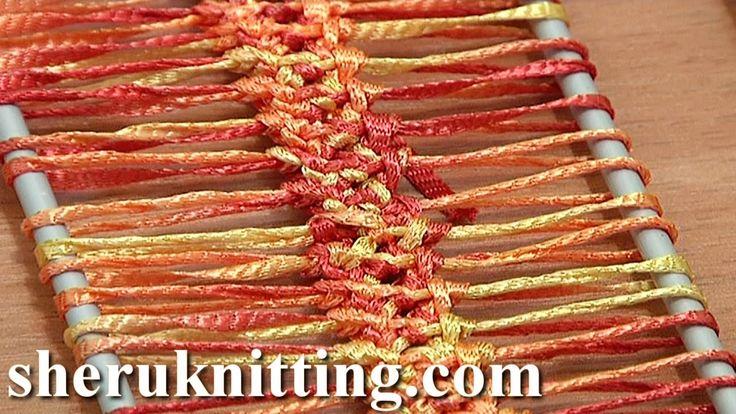 How To Crochet Hairpin Lace Braid Tutorial 13 Crochet Basic Hairpin Strip