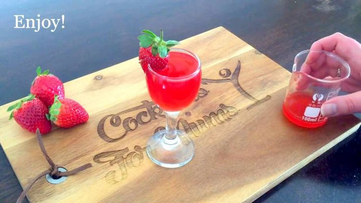 Cocktails For Mums - Strawberry Fresh Shot
