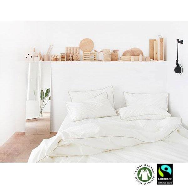Juego de cama funda nórdica de algodón orgánico Cabo