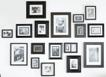 picture frame feature wall - Google Search