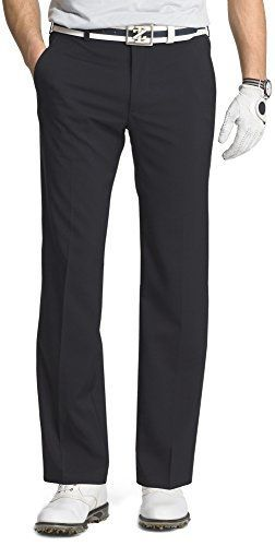 IZOD Golf Mens Straight Fit Performance Golf Pants 36W x 32L Black >>> Read more  at the image link.