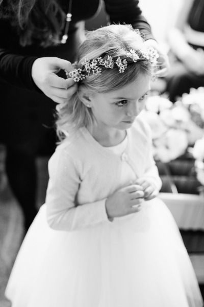 So much cuteness! http://www.stylemepretty.com/2015/04/19/romantic-timeless-new-york-city-fall-wedding/ | Photography: Mademoiselle Fiona - http://www.mademoisellefiona.com/