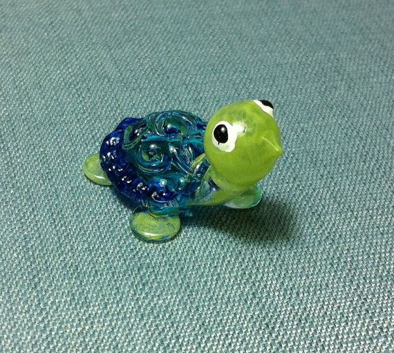 Hey, I found this really awesome Etsy listing at https://www.etsy.com/listing/182666257/hand-blown-glass-funny-turtle-reptile