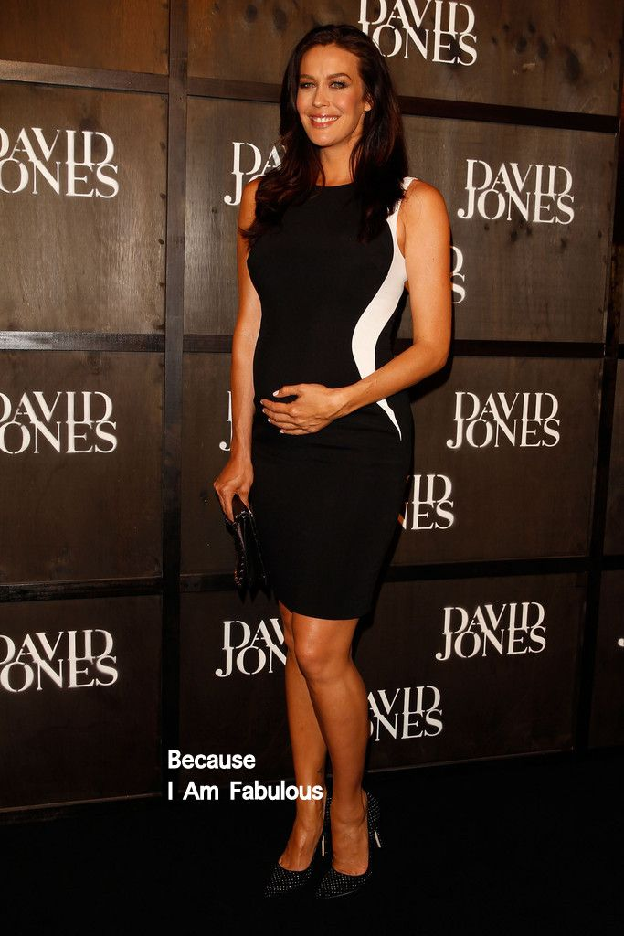 Megan Gale | Fabulously Spotted: Megan Gale Wearing Stella McCartney - David Jones ...