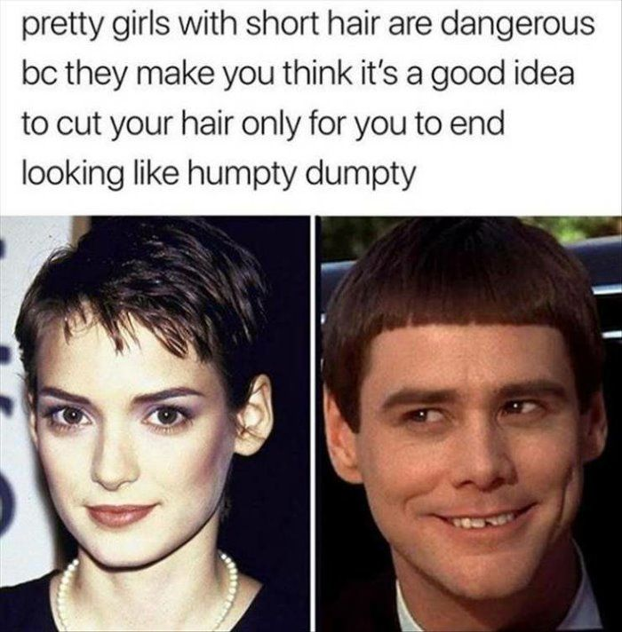 girls with short hair