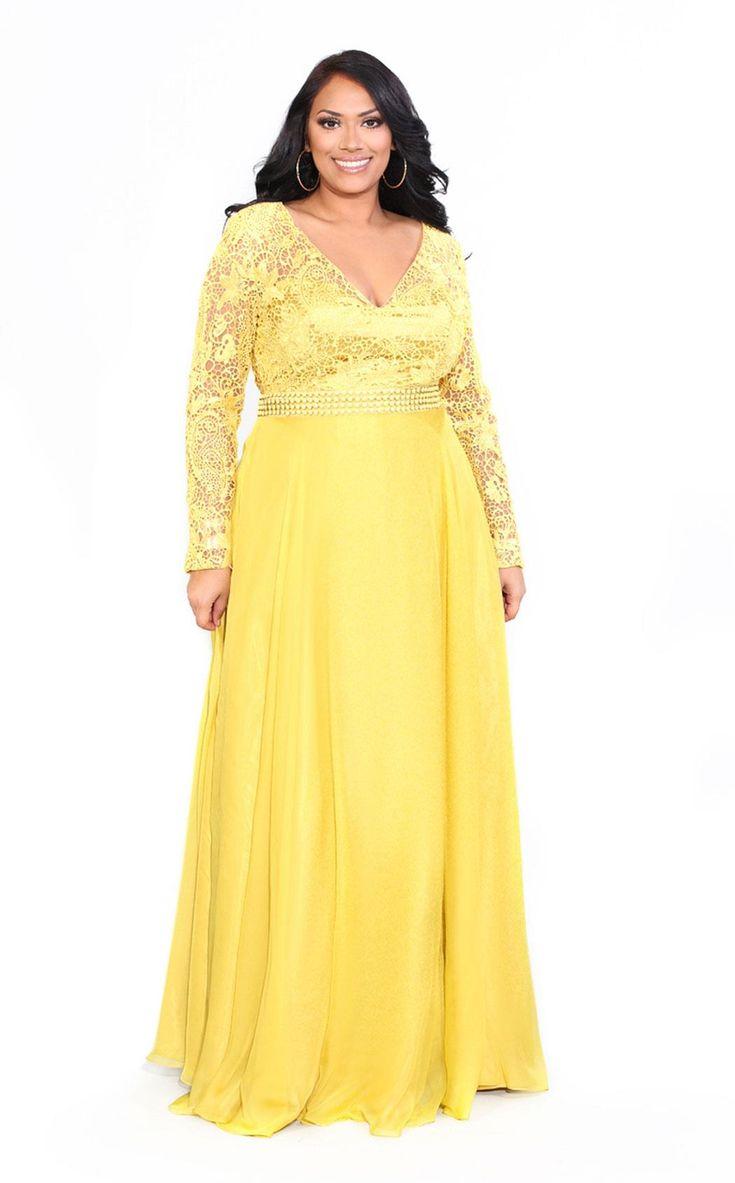 Women plus size prom dresses