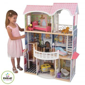 Maison de poupée en bois Manoir Magnolia - Kidkraft