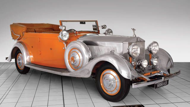 """1934 Rolls-Royce 40/50 Phantom II All Weather Cabriolet """"Star of India"""" - The cult of Rolls-Royce in India - Photos - Road & Track"""