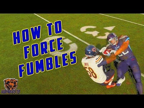 HOW TO FORCE FUMBLES IN MADDEN 19   HOW TO STRIP THE BALL