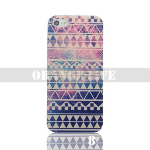 For iPhone 4 4S 5 5S Various Painted Hard Case Painting Skin Pattern Cover Back | eBay