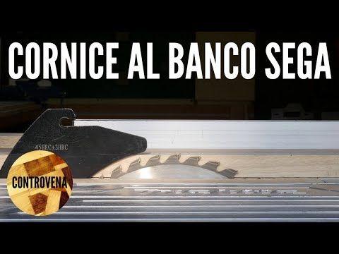 COME FARE UNA CORNICE IN LEGNO AL BANCO SEGA FAI DA TE