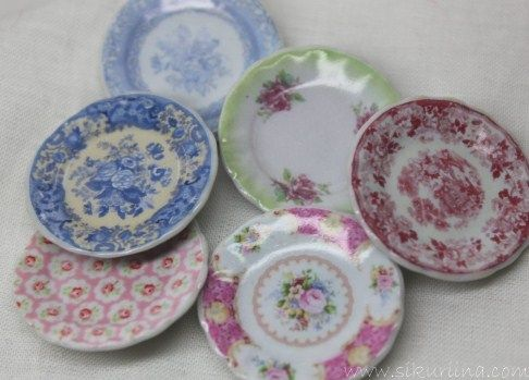 How-to: faux china plates