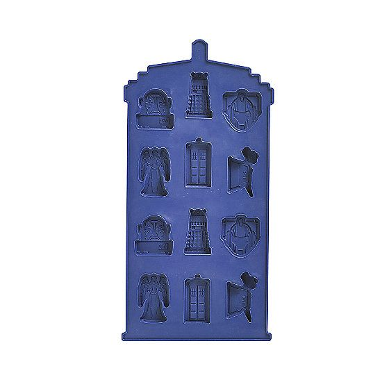 Tardis Chocolate Mould for Doctor Who Cupcakes