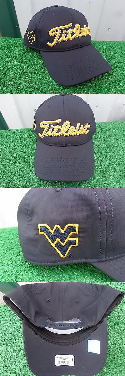 Golf Visors and Hats 158937: Titleist West Virginia Mountaineer Performance Adjustable Snapback Golf Hat Cap -> BUY IT NOW ONLY: $31.99 on eBay!