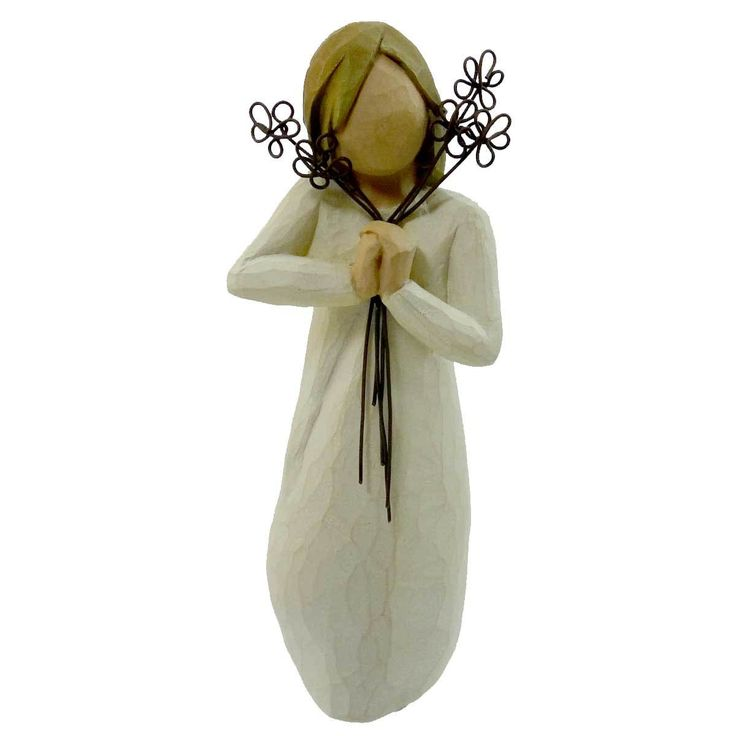 Willow Tree Friendship Figurine Height: 5.25 Inches Material: Polyresin Type: Figurine Brand: Willow Tree Item Number: Willow Tree 26155 Catalog ID: 9671 New With Box. Susan Lordi. Message: Friendship