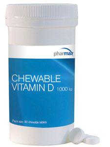 Pharmax- Chewable Vitamin D 1000 IU 90 tabs