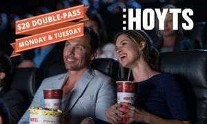 Groupon - GROUPON EXCLUSIVE: $ 20 for a HOYTS Movie Double Pass, 400 Cinema Screens Nationwide ($42 Value) in Multiple Locations. Groupon deal price: $20