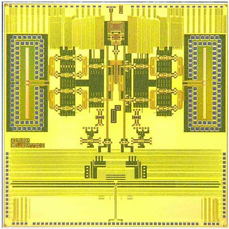 DARPA Demonstrates tiny silicon system on a chip which operates on 94GHZ. DARPA has created a powerful, lighter and less expensive Silicon System on a chip